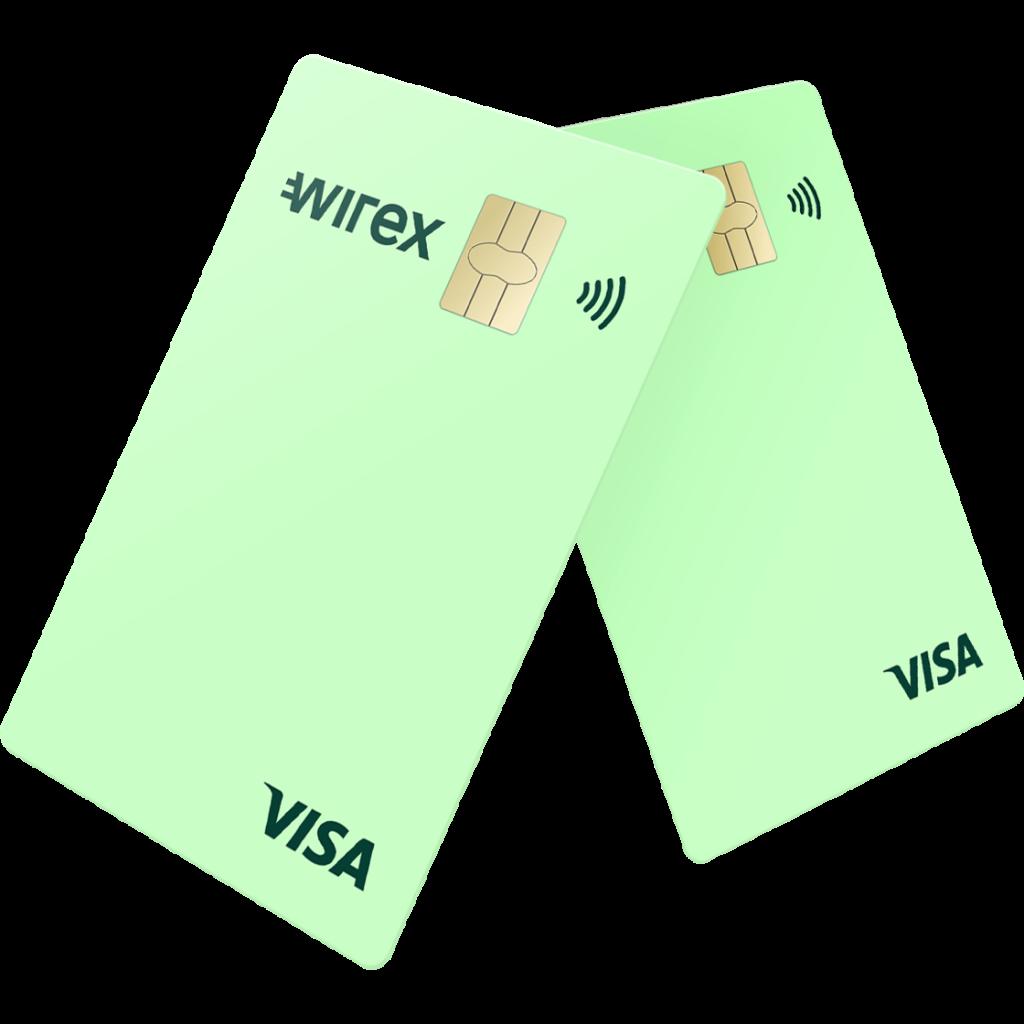 Wirex si Visa