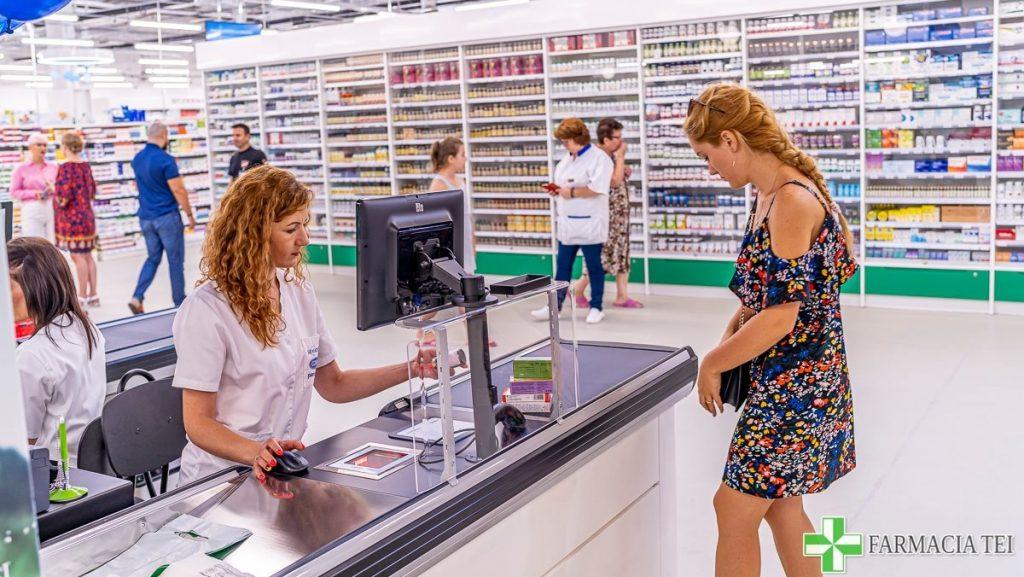 sistem de plata farmaciatei